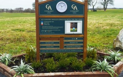 Signage For Golf Courses In Ireland – Glenlo Abbey Golf Club