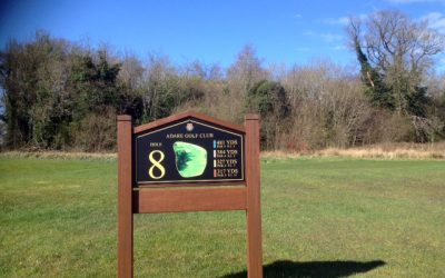 Golf Signs Ireland – New Golf Signage For The Adare Manor